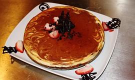 Mramorový Cheesecake pro Anselma