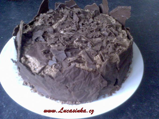 Můj narozeninový čokoládový dort