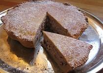 Kokosovotvarohový koláč s brusinkami