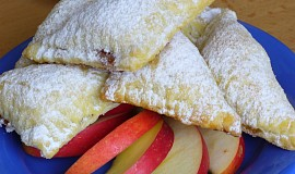 Šátečky s jablky a marmeládou