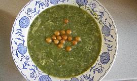 Špenátová polévka ( rychlovka )