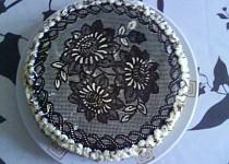 Krajkový dort