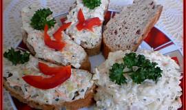 Vitamínová pomazánka - salát