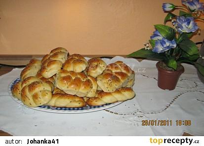 Kynuté pečivo - domácí housky