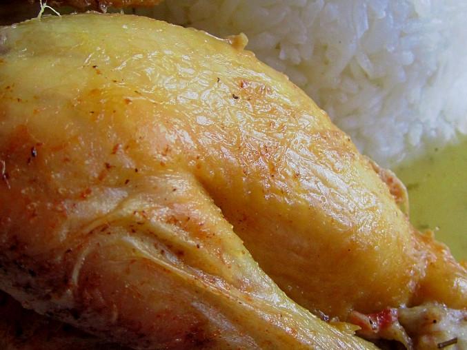 Kuřátko Coquelete na muškátovém oříšku, Kuřátko Coquelete na muškátovém oříšku