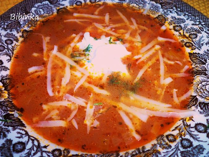 """Rajská polévka""""speciál"""""""