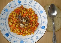 Cizrna na zelenině