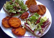 Falafel z červené čočky