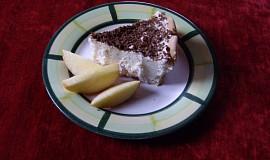 Ledový jablkový dort