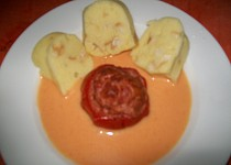 Plněná pečená rajčata