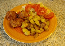 Rajčatové kuličky z mletého masa