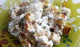 Zapékané tvarohové brambory