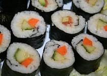 Sushi pro vegetariány a ne-konzumenty syrového masa