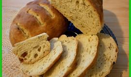 Křupavý chlebík z hladké mouky