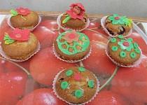Muffínci s višněmi