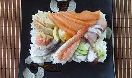 Rozházené sushi  Chirashizushi