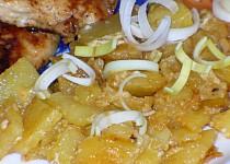 Brambory zapečené s majonézou