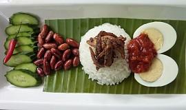 Kokosová rýže Nasi Lemak