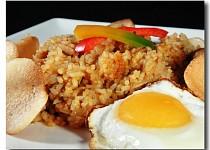 Smažená rýže Nasi Goreng