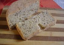 Lněný chléb se sezamem