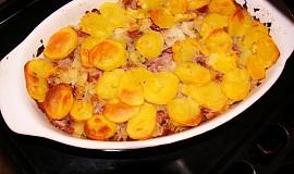 Šunkofleky s brambory