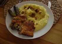 Kuřecí řízky v těstíčku  z uzeného sýra