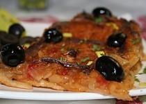 Provensálský cibulový koláč Pissaladiere