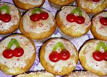 Třešničkové muffinky