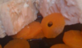 Jemný vařený losos