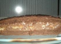 Čokoládovo-banánové řezy