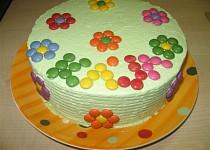 Lentilkový dort pro Karolínku