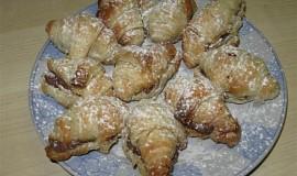 Mini croissanty s nutellou