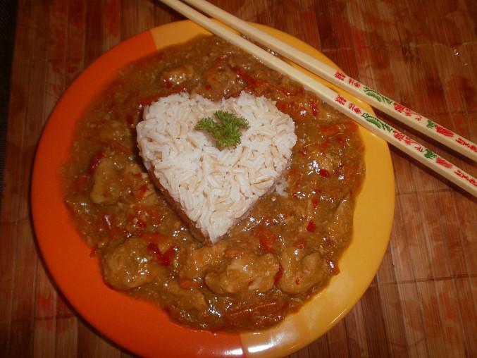 Kuřecí čína z pomalého hrnce