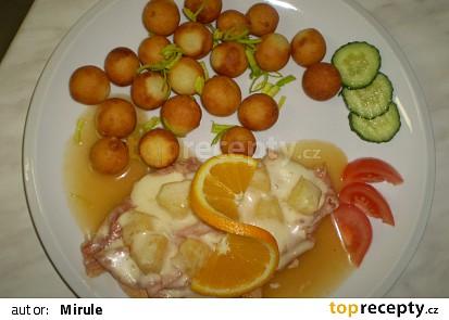 Kuřecí plátek s ananasem