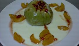 Pečená jablka s meruňkama