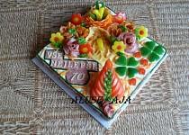 """Slaný dort - """"70"""""""