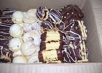 Cukroví z vanilkového pudinku