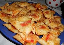 Jednohubky se sušenými rajčaty na Silvestra