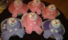 Minidortíčky - cupcakes