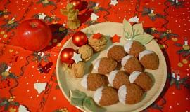 Ořechy s karamelovou nádivkou