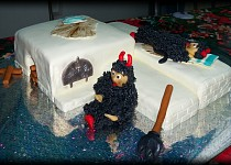Čerti - dort