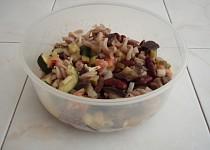 Těstovinový salát s uzeným lososem