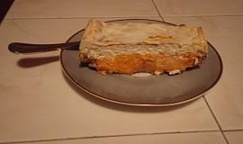 Dýňový tvarohový dort