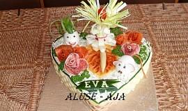 Slaný dort - pro Evu