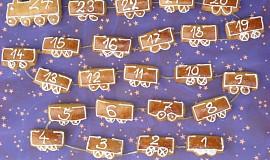 Adventní kalendář z perníku
