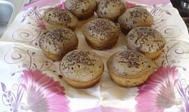 Karobové muffiny