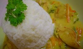 Kuřecí na kari se zeleninou