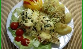 Kuřecí prsa na másle pod celerovou peřinkou