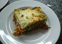 Lasagne s dvojí náplní