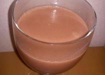 Mléčný jahodový svařák
